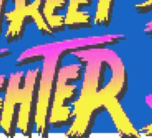 Street Fighter II Turbo Sticker