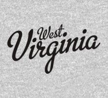 West Virginia Script Black by USAswagg2