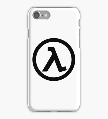 Half Life Lambda iPhone Case/Skin