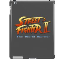 Street Fighter II: The World Warrior iPad Case/Skin