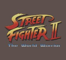 Street Fighter II: The World Warrior by TWMTees