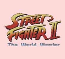 Street Fighter II: The World Warrior Kids Clothes