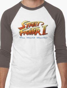 Street Fighter II: The World Warrior Men's Baseball ¾ T-Shirt