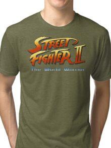 Street Fighter II: The World Warrior Tri-blend T-Shirt