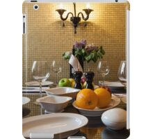Dinner Setting iPad Case/Skin