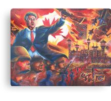 For a Safer Canada Canvas Print