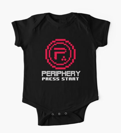Periphery 8-bit Red/Ketchup Vs. Mustard One Piece - Short Sleeve