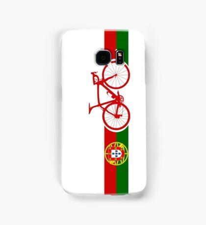 Bike Stripes Portugal  Samsung Galaxy Case/Skin