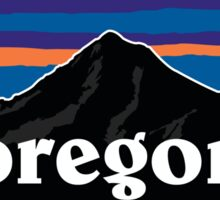 Oregon mt hood pata Sticker