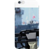 Machine gun Kalashnikov iPhone Case/Skin