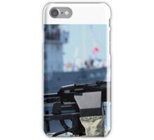 Machine gun Kalashnikov iPhone Case/Skin