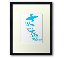 Firefly Ballad of Serenity - Can't Take the Sky Framed Print