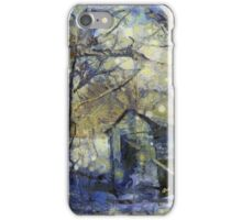 Outhouse in Snow iPhone Case/Skin