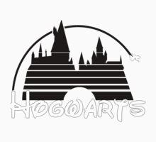 Hogwarts castle (black) Kids Clothes