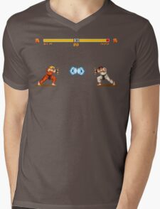 Ken vs. Ryu Mens V-Neck T-Shirt