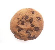 Chocolate Chip Cookie Photographic Print