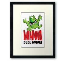 Graphic Dave! Framed Print