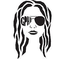 GPHI Girl Photographic Print