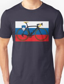 Bike Flag Slovenia (Big - Highlight) T-Shirt