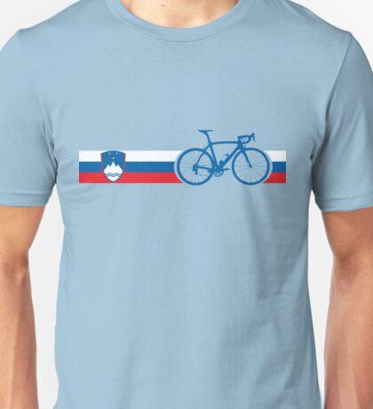 Bike Stripes Slovenia Unisex T-Shirt