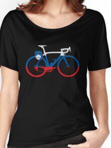 Bike Flag Slovenia (Big) Women's Relaxed Fit T-Shirt