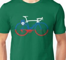Bike Flag Slovenia (Big) Unisex T-Shirt