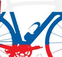 Bike Flag Slovenia (Big) Sticker