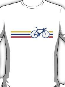 Bike Stripes Colombia v2 T-Shirt