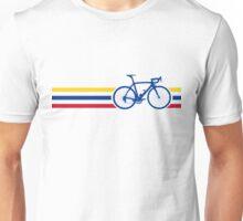 Bike Stripes Colombia v2 Unisex T-Shirt