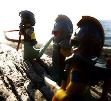 Mer-dudes at Carkeek by bricksailboat