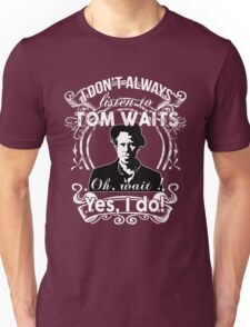 TOM WAITS'FANS NEW Unisex T-Shirt