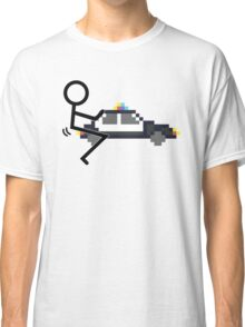 Fuck Police cool funny police car fucking icon Classic T-Shirt
