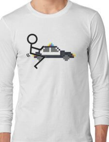 Fuck Police cool funny police car fucking icon Long Sleeve T-Shirt