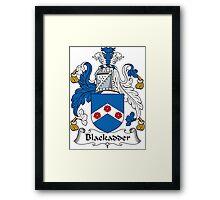 Blackadder Coat of Arms (Scottish) Framed Print