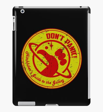 Hitchhiker's Guide iPad Case/Skin