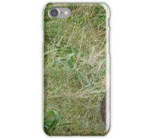 He thinks I can't see him. Huh I can. iPhone Case/Skin