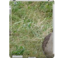 He thinks I can't see him. Huh I can. iPad Case/Skin