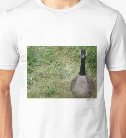 He thinks I can't see him. Huh I can. Unisex T-Shirt