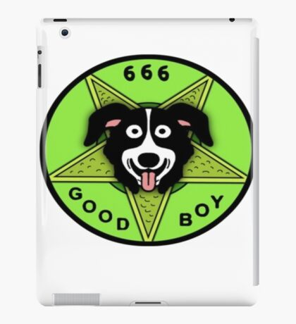 Mr Pickles good boy iPad Case/Skin