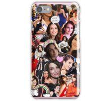 tina collage iPhone Case/Skin