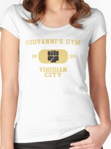 Giovanni's Gym Vintage Women's Fitted Scoop T-Shirt