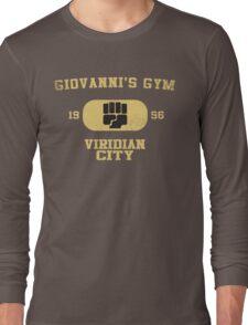 Giovanni's Gym Vintage Long Sleeve T-Shirt