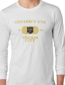 Giovanni's Gym Vintage Long Sleeve T-Shirt