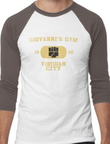 Giovanni's Gym Vintage Men's Baseball ¾ T-Shirt