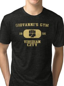 Giovanni's Gym Vintage Tri-blend T-Shirt