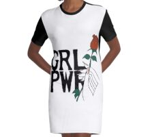 grl pwr Graphic T-Shirt Dress