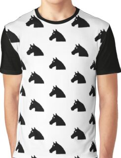 Pony Face Graphic T-Shirt