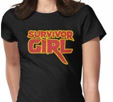 SURVIVOR GIRL Womens Fitted T-Shirt
