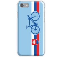 Bike Stripes Slovakia iPhone Case/Skin