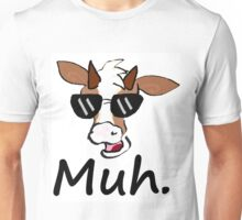 """Muh"" - Cool Cow Unisex T-Shirt"